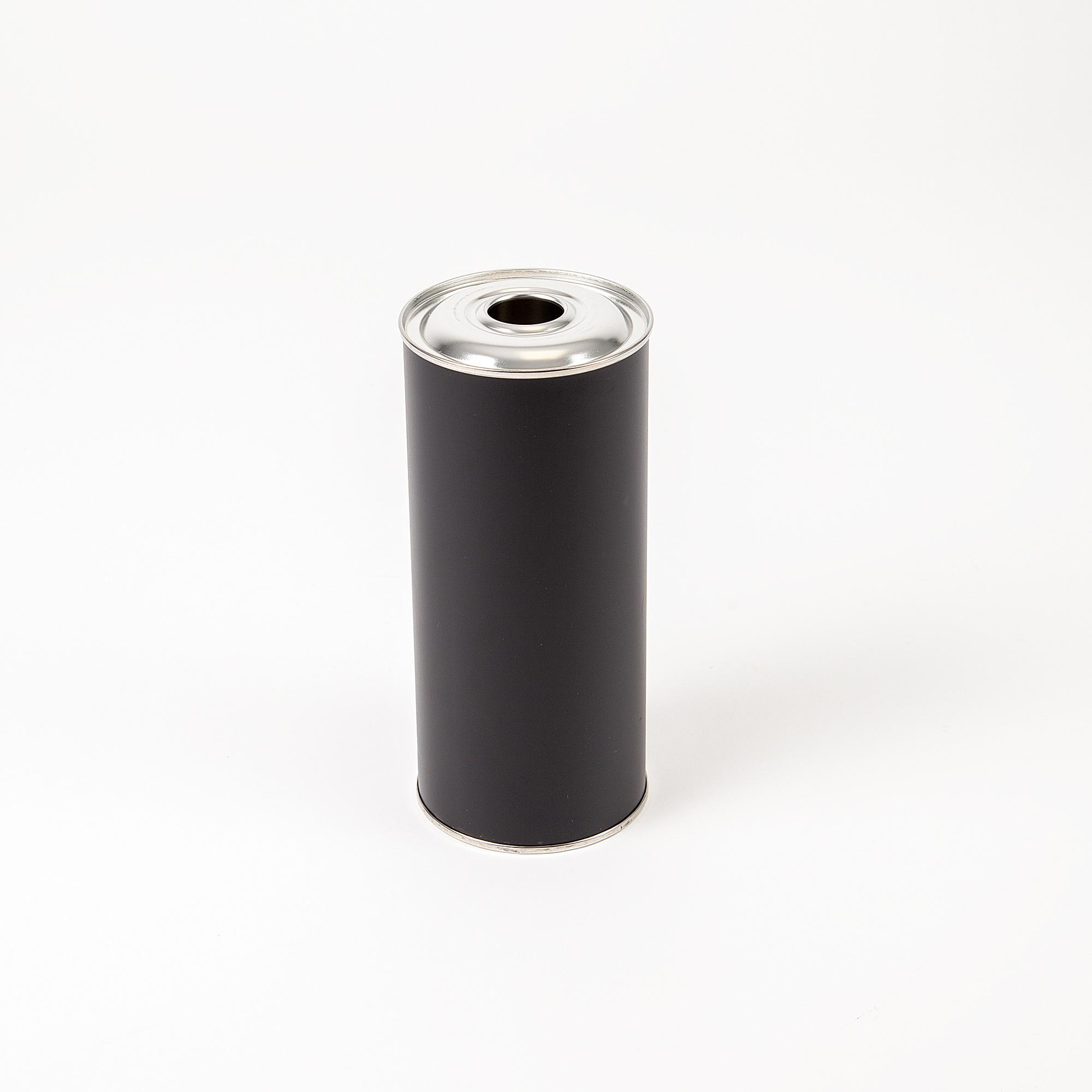 Flachflasche 750ml schwarz
