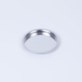 Patentdeckel für Dose 108mm, ACL - innen weiß beschichtet, außen blank