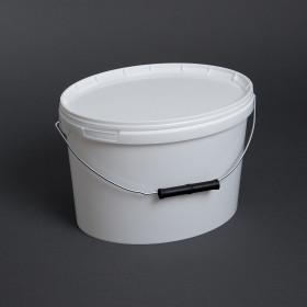 Kunststoffeimer oval, 5 Liter