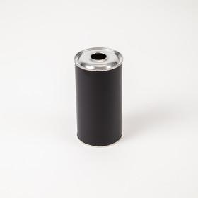 Flachflasche 500ml schwarz