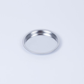 Patentdeckel für Dose 99mm, ACL - innen weiß beschichtet, außen blank