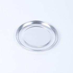 Eindrückdeckel für Dose 163mm, blank, ohne Gummidichtung