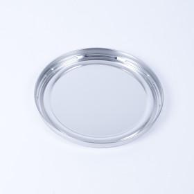 Eindrückdeckel für Eimer 230mm, blank, mit Gummidichtung