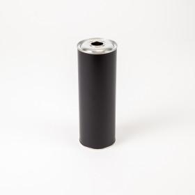 Flachflasche 1.000ml schwarz