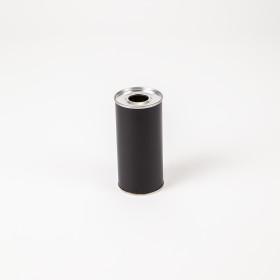 Flachflasche 250ml schwarz